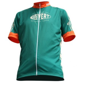 Maillot Vélo Vert Collector